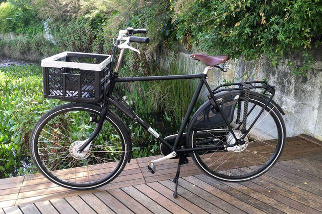 Bicicleta holandesa, WORKCYCLES, quadro alto