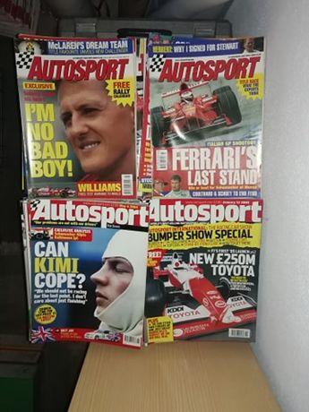 Revistas inglesas AutoSport