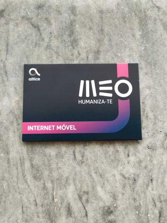 Cartão Internet Meo