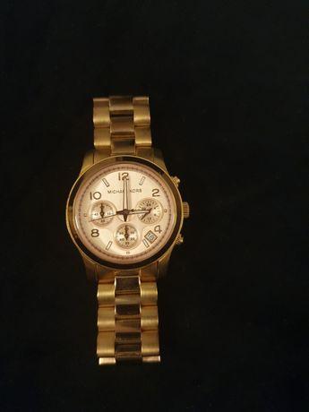 Zegarek Michael Kors złoty, oryginalny w stanie idealnym