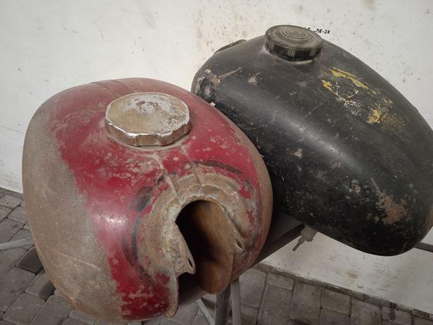 Zbiorniki paliwa WSK i Jawa
