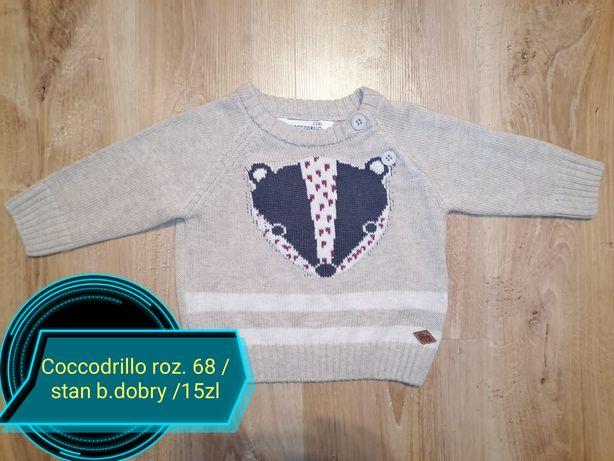 Sweter coccodrillo roz. 68
