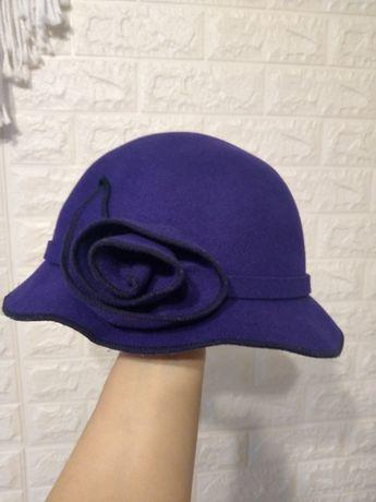 Капелюх шляпа шляпка шерсть шапка