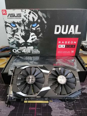 ASUS Dual Radeon RX 580 OC 4GB GDDR5