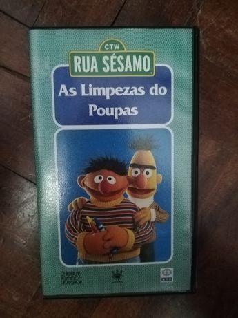 Rua Sésamo - Cassetes VHS