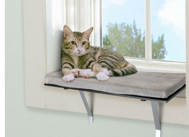 Ławka dla kota,psa do okna