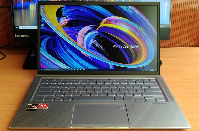 "Asus ZenBook 14""IPS FHD/Ryzen 5 3500/8Gb/SSD512Gb/RXVega8-2Gb/в идеале"