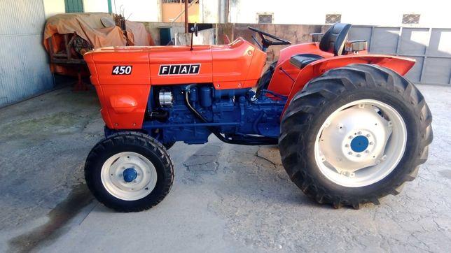Trator agrícola Fiat