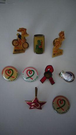 Pack de 9 Pins variados