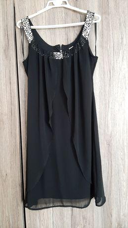Sukienka czarna rozm. 40