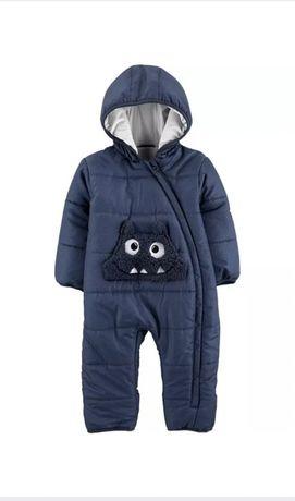 Детский зимний комбинезон на утеплителе Картерс