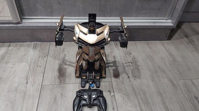 Duży Transformers pilot zdalnie sterowany świeci dźwięki auto