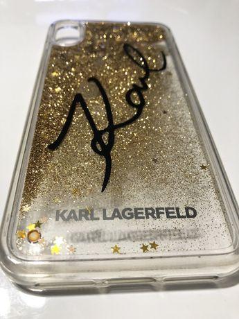 Oryginalne Etui Iphone XS MAX Karl Lagerfeld