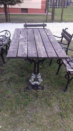 Stół ogrodowy + 6 krzeseł