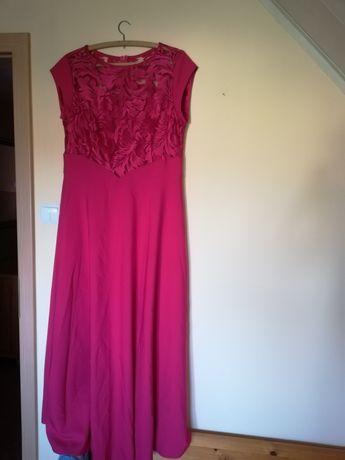 Sukienka, długa nowa