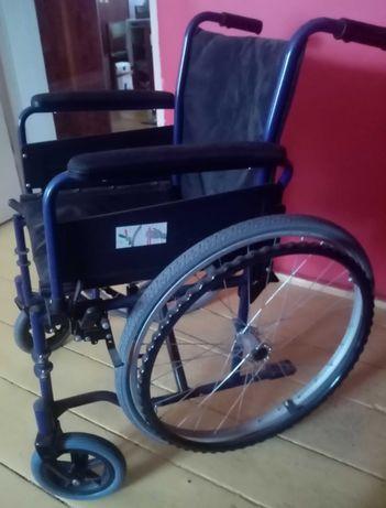 Wózek inwalidzki składany + gratisy