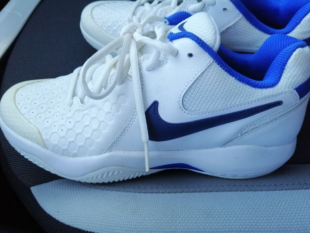 Ténis Nike Zoom Branco e Azul