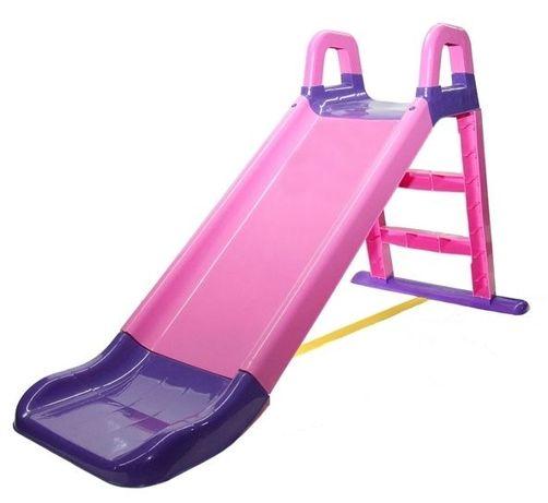 Дитяча гірка Рожева Doloni Горка детская пластиковая для катания детей