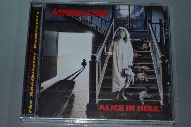 "Annihilator ""Alice In Hell"" (1989) Фирменный. Запечатанный."