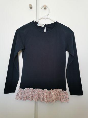 Sweat algodão com folho Match 12 anos.