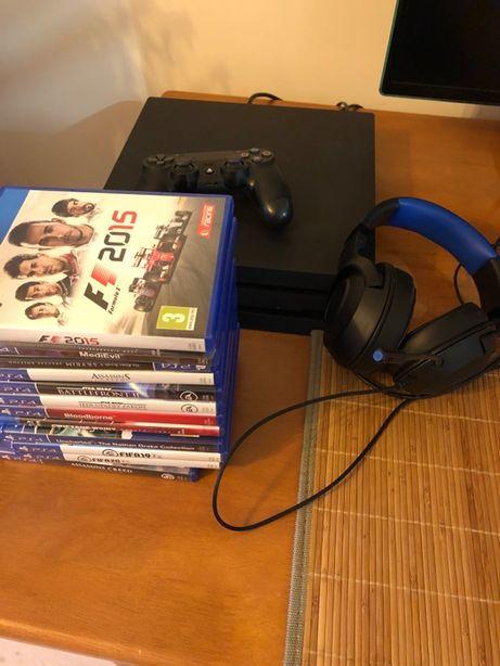 PS4 PRO + Razer Kraken + możliwe gry