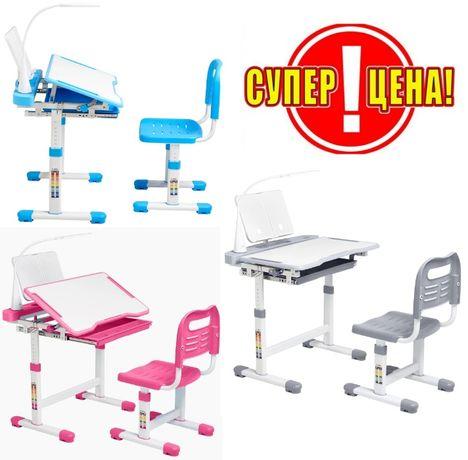 Эргономический комплект Cubby парта и стул-трансформеры Vanda, 3 цвета