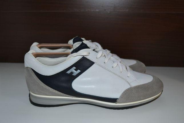 Hogan 42р туфли сникерсы кроссовки кожаные. оригинал