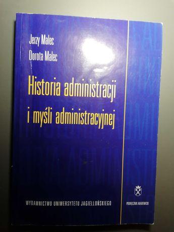 Książka, historia administracji i myśli administracyjnej