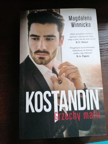 Książka Kostandin Grzechy mafii