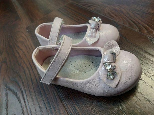 Мештики,туфлі для дівчинки на 1 рочок