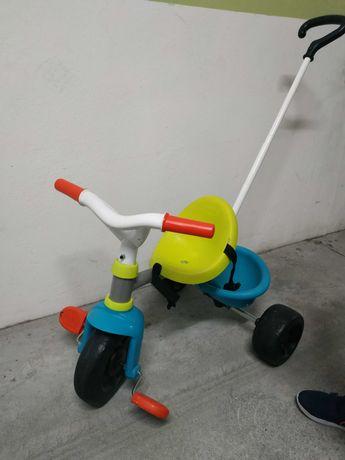 Triciclo Smoby azul