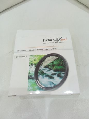 Filtr soczewka do aparatu naturalnej gęstosci WALIMEX pro nd4 mc 55 mm