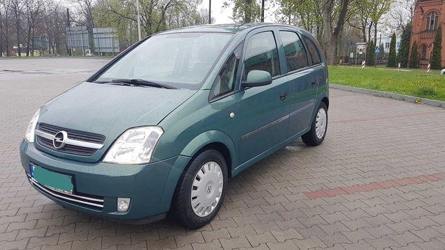 Opel Meriva 2003r poj.1,6 ben, I właściciel, Długie opłaty, Zadbany