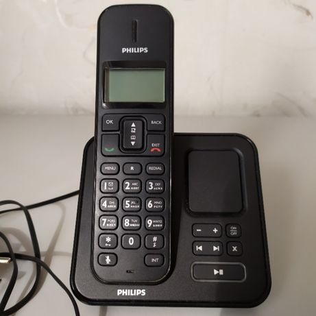 Радиотелефон с автоответчиком Philips SE175