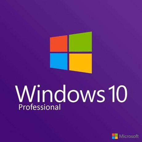 Установка Windows 10 Pro/Office 2016 или 2019 лицензионный, виндовс