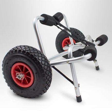 Wózek transportowy do kajaka, łódki i długich elementów do 70 kg