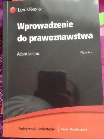 Książka wprowadzenie do prawoznawstwa Adam Jamroz prawo