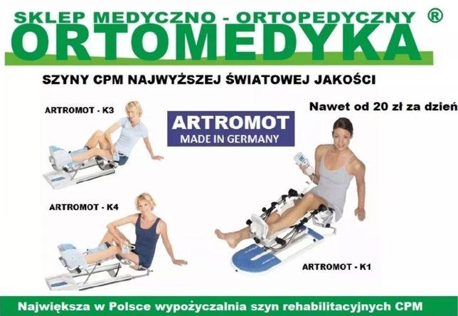 wypożyczalnia sprzętu medycznego rehabilitacyjnego szyn CPM Bochnia