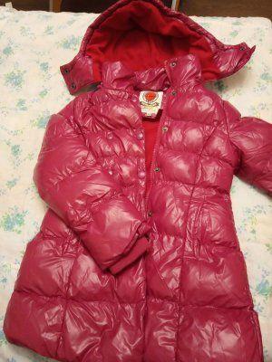 Зимнее непромокаемое пальто на 5 лет