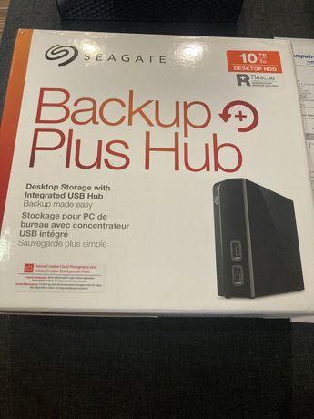 Dysk zewnętrzny Seagate Beckup Plus Hub Desk 10 TB