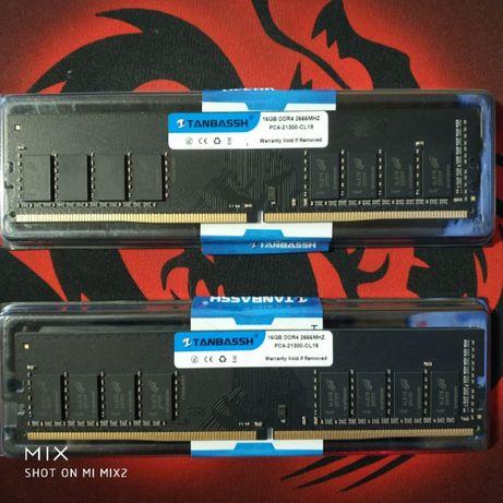 Опер.память для ПК SDRAM,Tanbassh,DDR4,32Gb,2666MHz,PC4-21300U,CL19