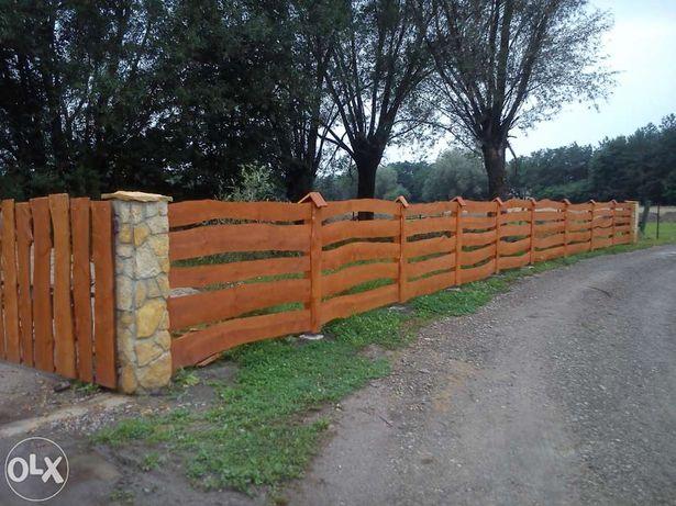 Ogrodzenia Drewniane-RANCZO - MONTAŻ, Ogrodzenie z Drewna, Solidnie!