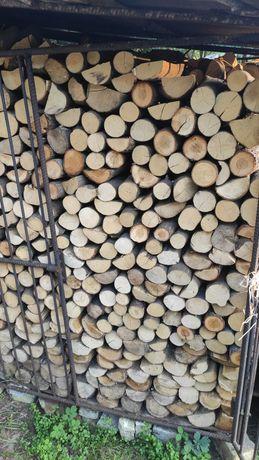 Drewno opałowe, dąb, grab, sosna