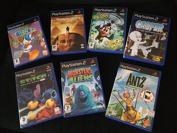 Jogos para PS2 (usados em excelente estado)