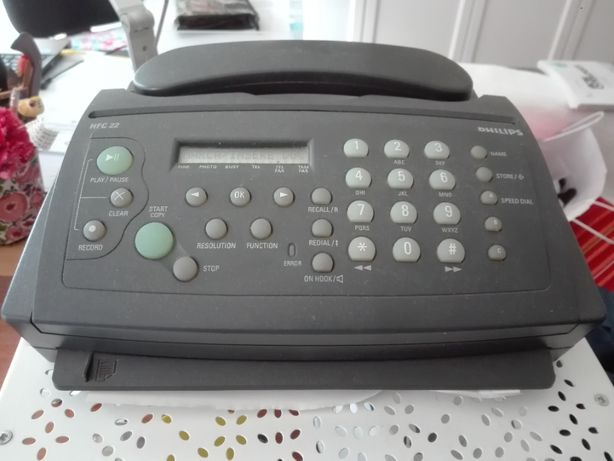 Fax c/telefone Philips HFC 22