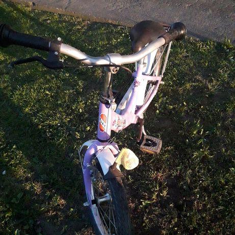 Rowerek dla dziewczynki puky aluminiowy