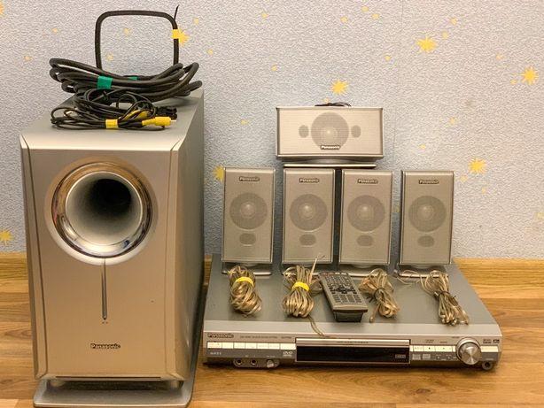 Акустическая система музыкальная система колонки Panasonic сабвуфер