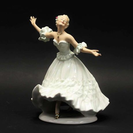 Tancerka olbrzymia figurka Wallendorf