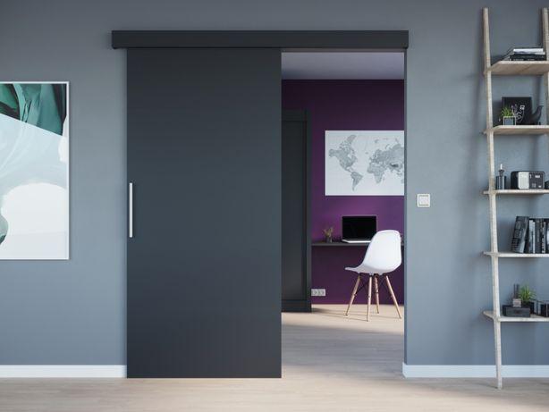 Drzwi przesuwne WERO 86 czarne SOLIDNE DARMOWA DOSTAWA