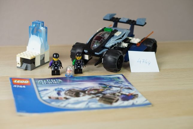 Lego 4744 - Alpha Team - Mission Deep Freeze Tundra Tracker - KOLEKCJA